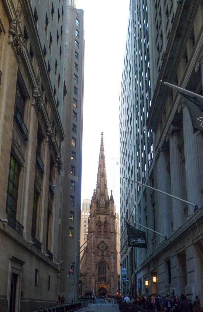 Trinity Church,Wall Street, New York, New York, Verenigde Staten (2010)