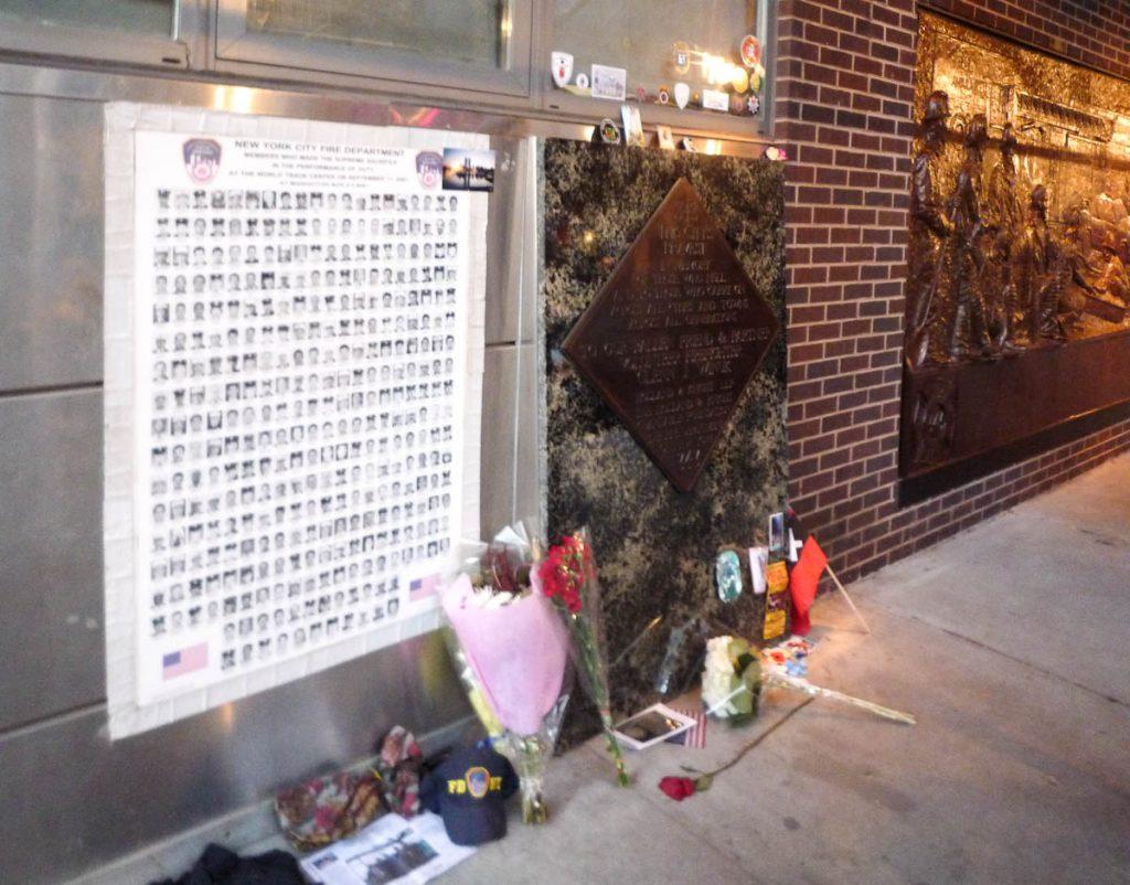 Helden van 9/11,Ground Zero, New York, New York, Verenigde Staten (2010)