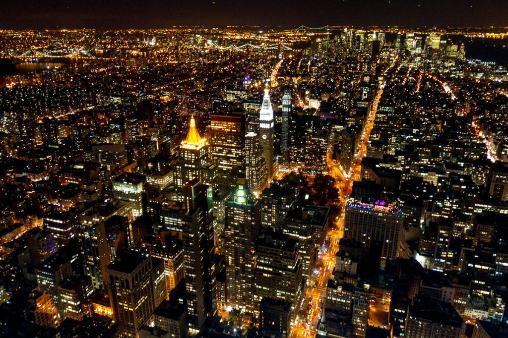 New York,Empire State Building, New York, New York, Verenigde Staten (2010)