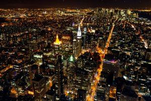 New York bij nacht