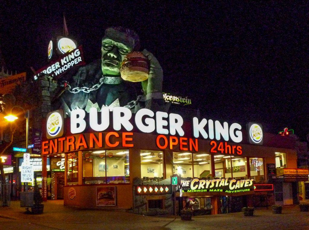 Frankenstein Burger King,Niagara Falls, Ontario, Canada (2010)