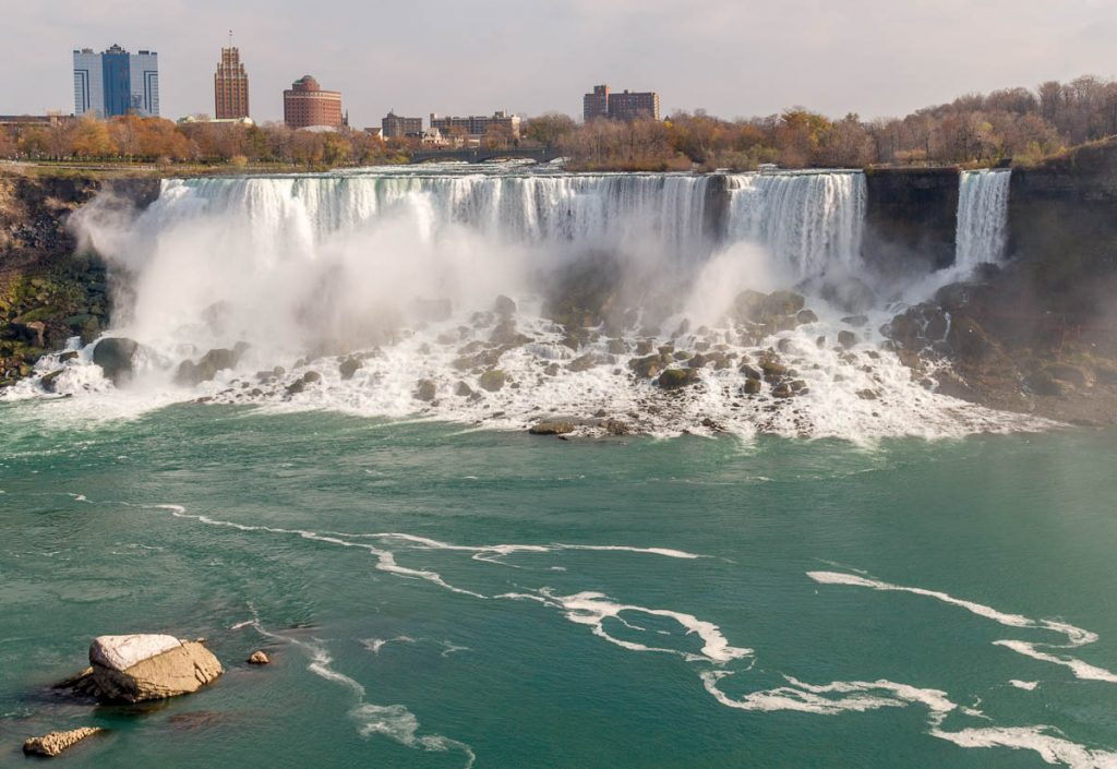 American & Bridal Veil Falls,Niagara Falls, Ontario, Canada (2010)