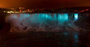 American & Bridal Veil Falls