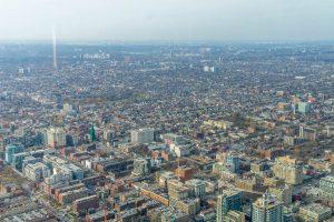 Uitzicht over Toronto