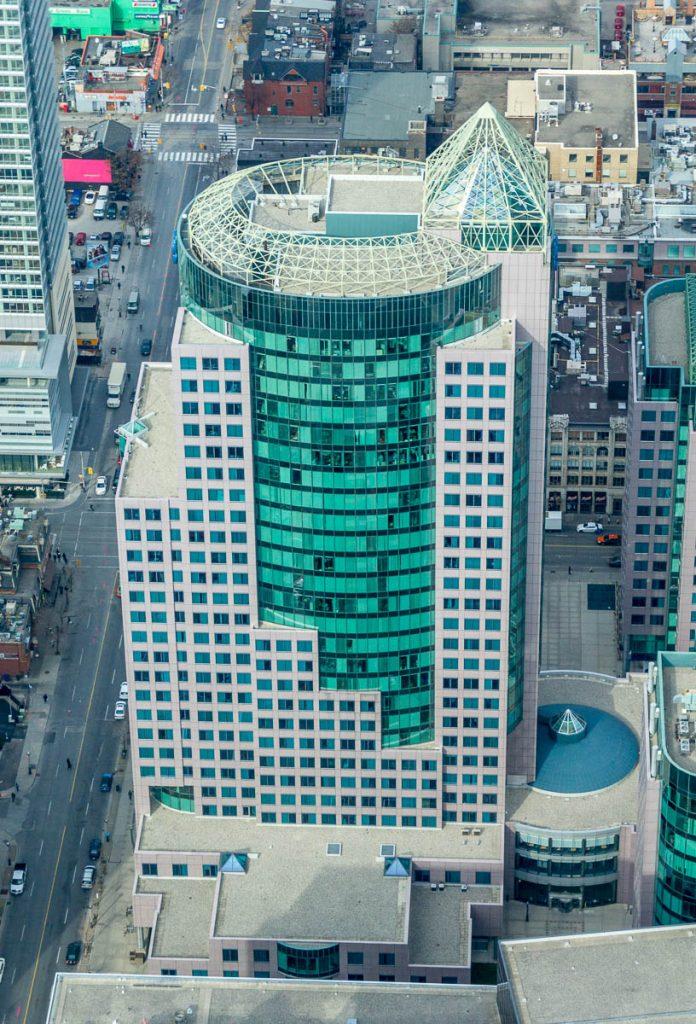 Metro Hall,CN Tower, Toronto, Ontario, Canada (2010)