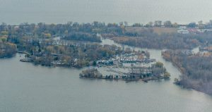Uitzicht op Toronto Island