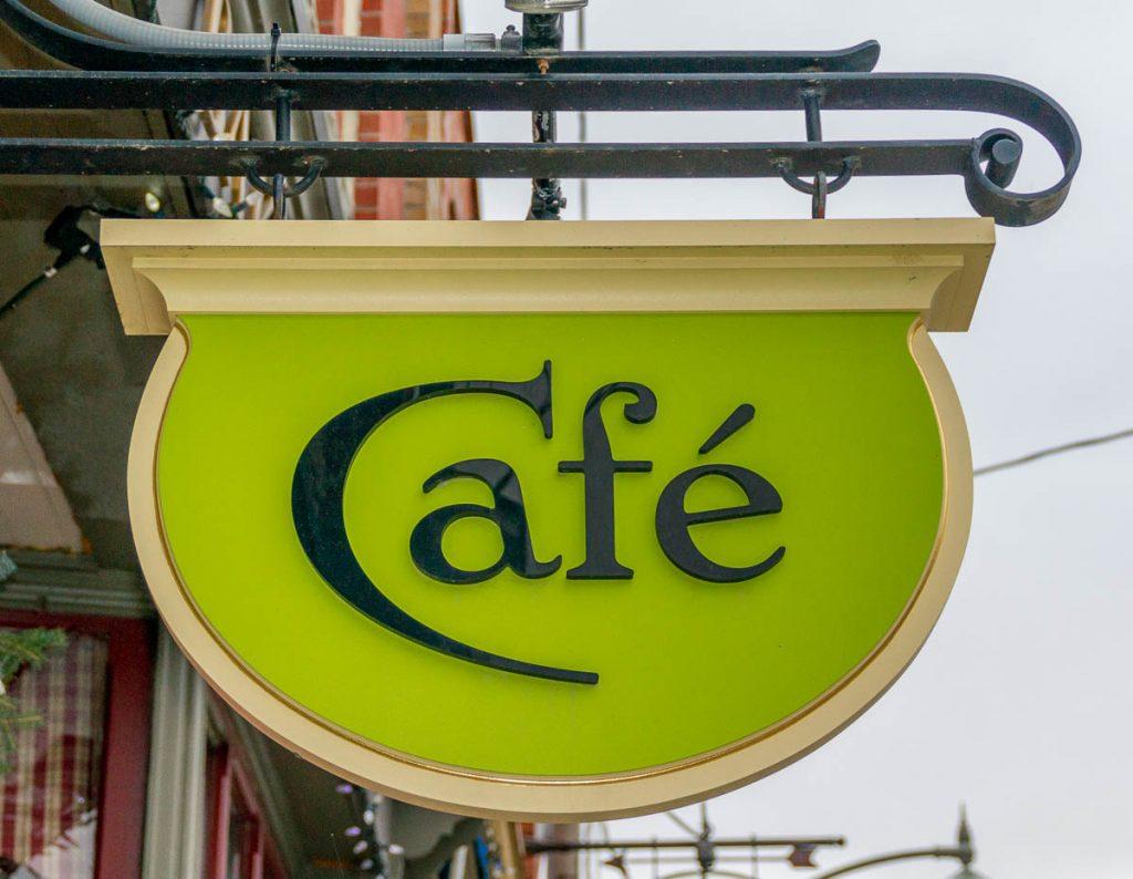 Café,Mill Street, Creemore, Ontario, Canada (2010)