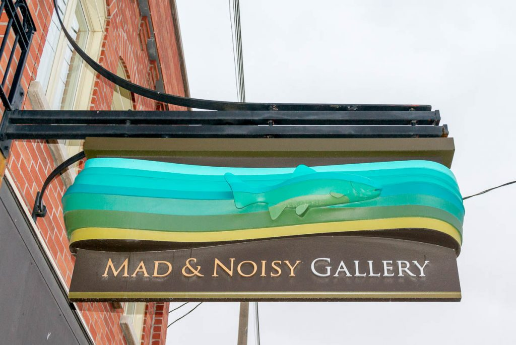 Mad & Noisy Gallery,Mill Street, Creemore, Ontario, Canada (2010)