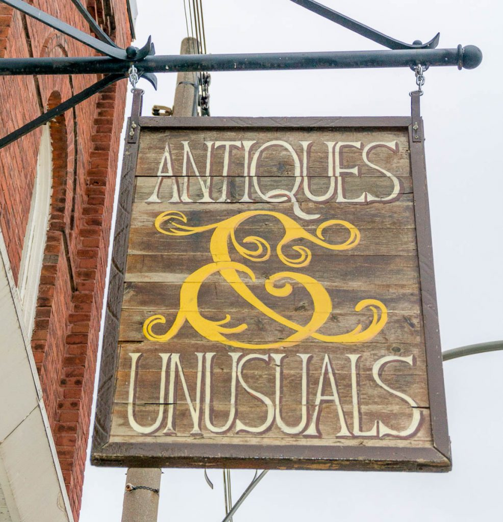Antiques & Unusuals,Mill Street, Creemore, Ontario, Canada (2010)