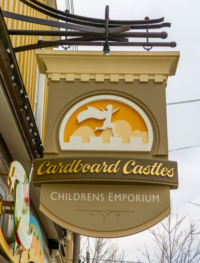 Cardboard Castles,Mill Street, Creemore, Ontario, Canada (2010)