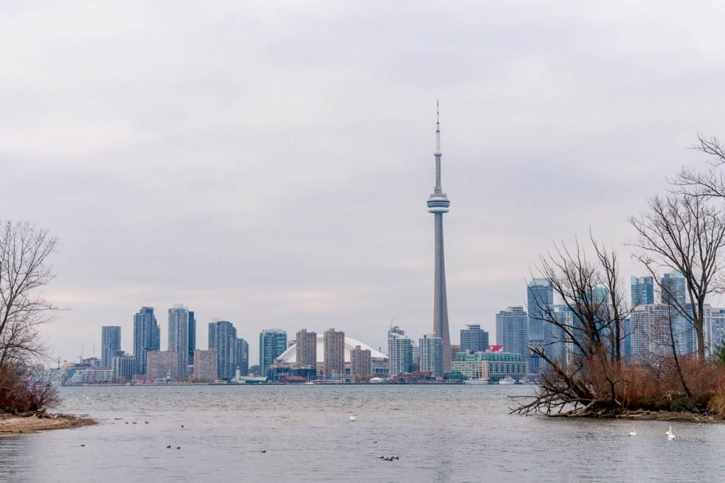 Toronto Skyline,Toronto Island, Toronto, Ontario, Canada (2010)
