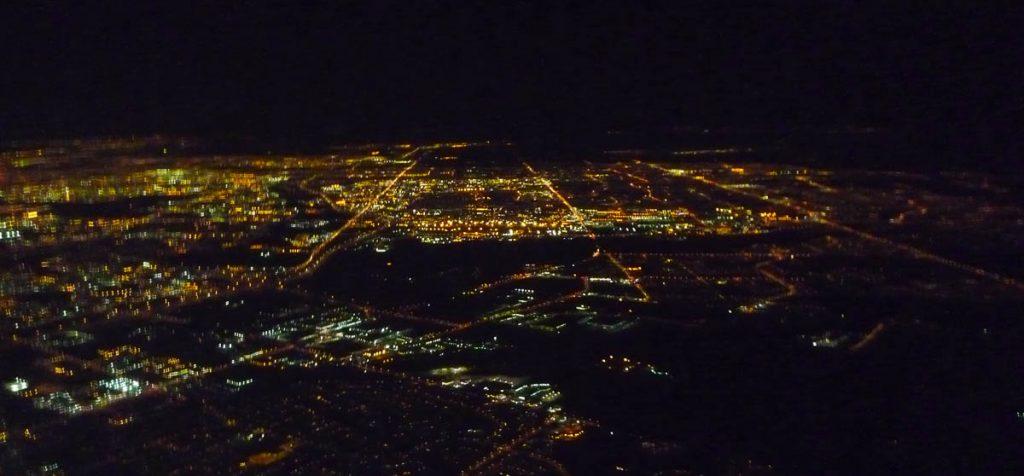 Saskatoon vanuit de lucht,Saskatoon, Saskatchewan (2010)