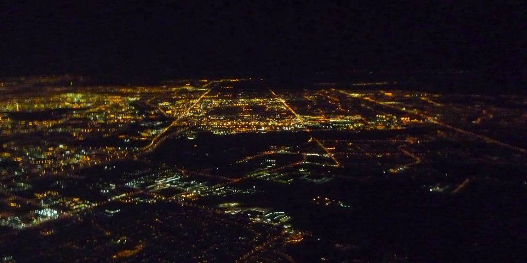 Saskatoon vanuit de lucht