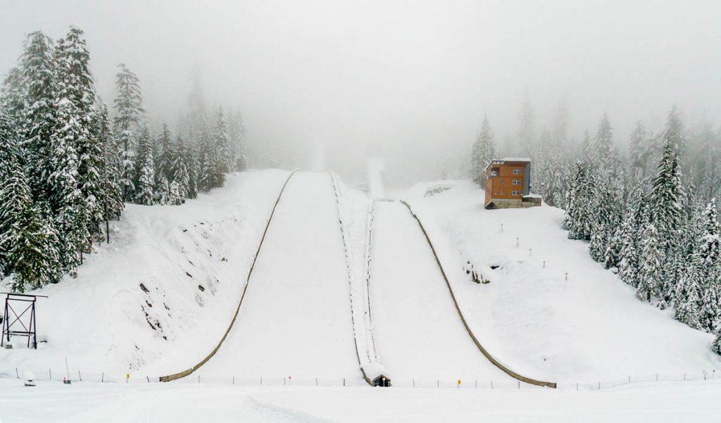 Olympische skischans,Whistler, British Columbia, Canada (2010)