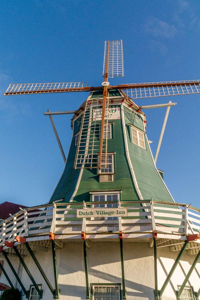 Windmolen,Dutch Village, Lynden, Washington, Verenigde Staten (2010)