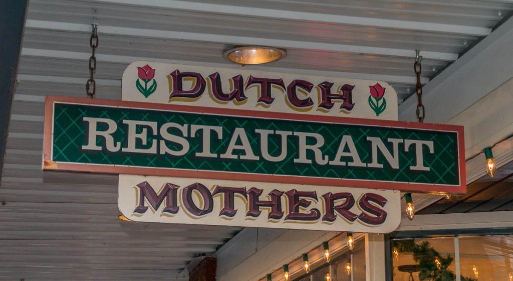 Dutch Mothers Restaurant,Dutch Village, Lynden, Washington, Verenigde Staten (2010)