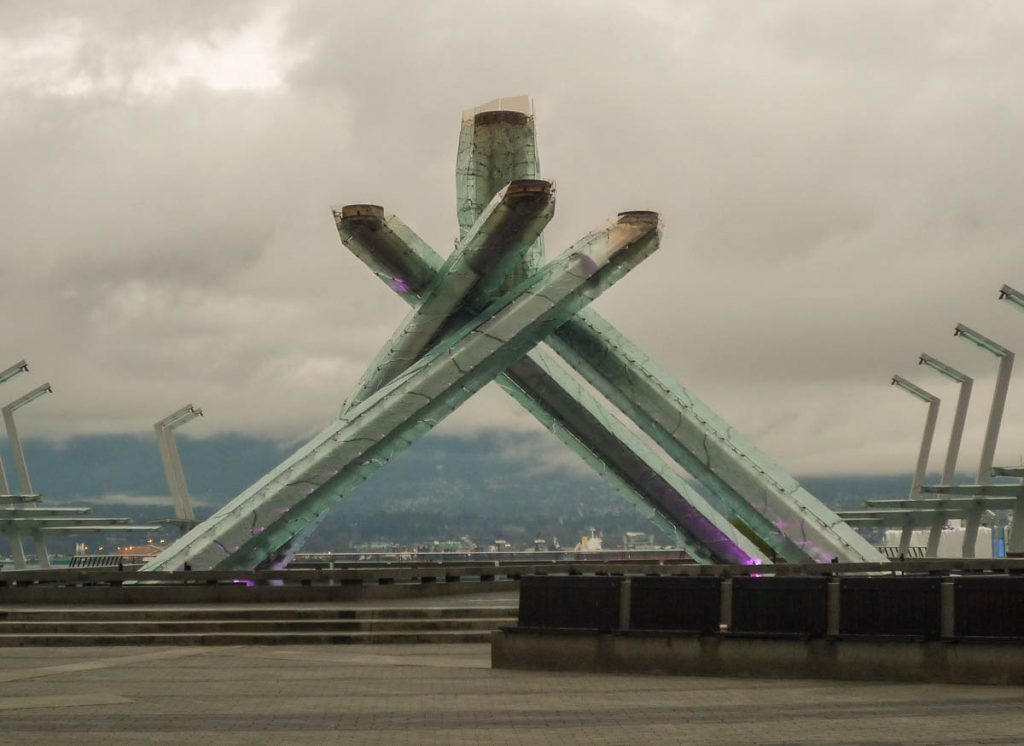 Olympic Cauldron,Vancouver, British Columbia, Canada (2010)