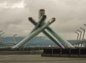 Hier brandde het Olympisch vuur