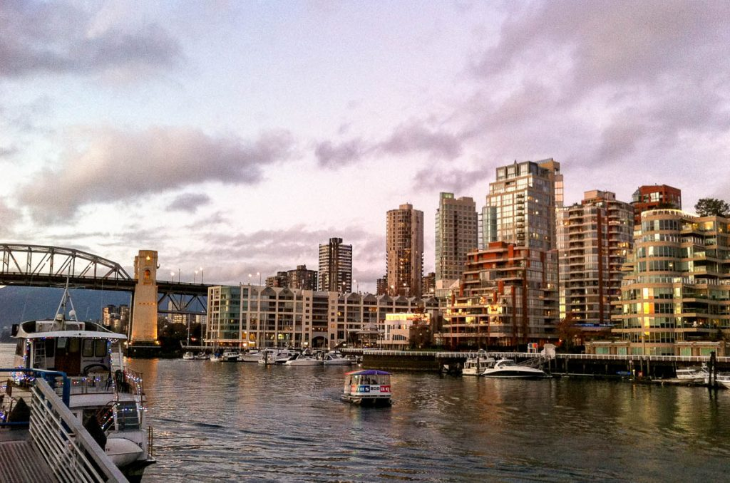 False Creek & Downtown Vancouver,Granville Island, Vancouver, British Columbia, Canada (2010)