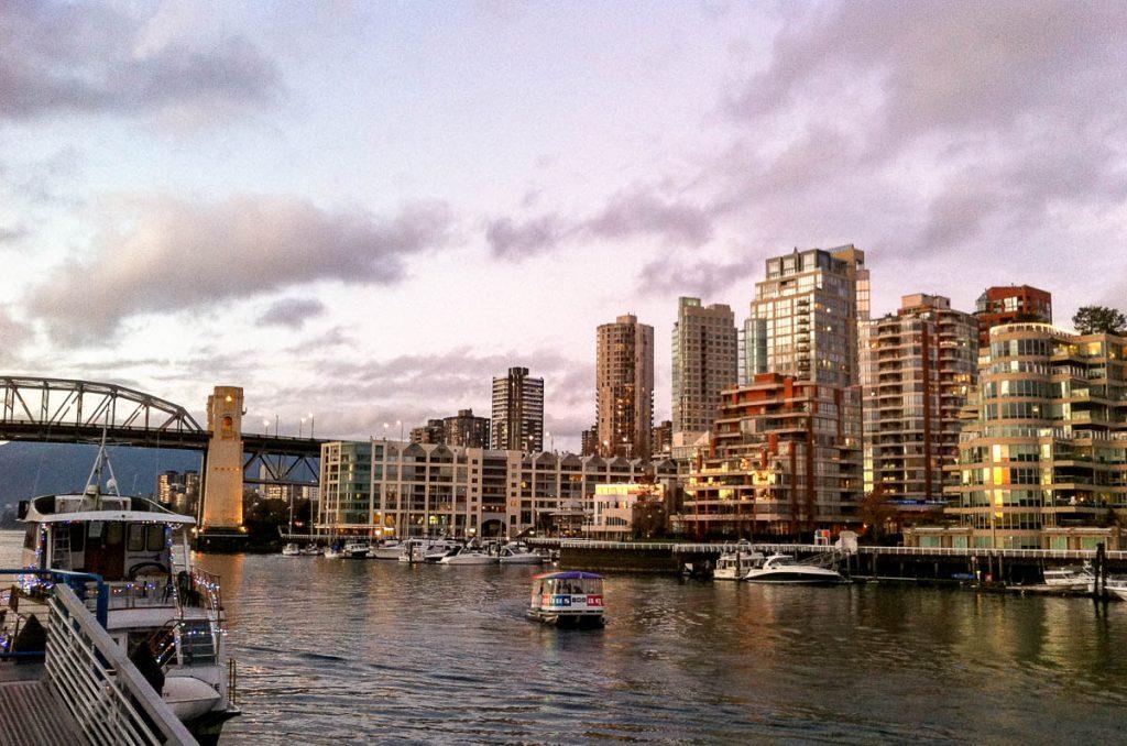 False Creek & Downtown Vancouver,Granville Island, Vancouver, British Columbia, Canada (2010)