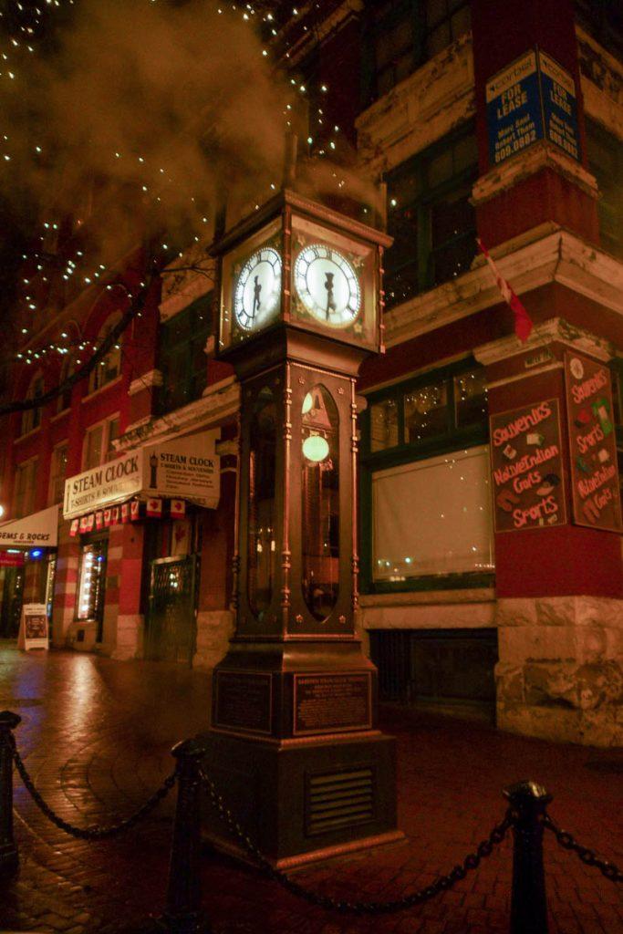 Gastown Clock,Vancouver, British Columbia, Canada (2010)