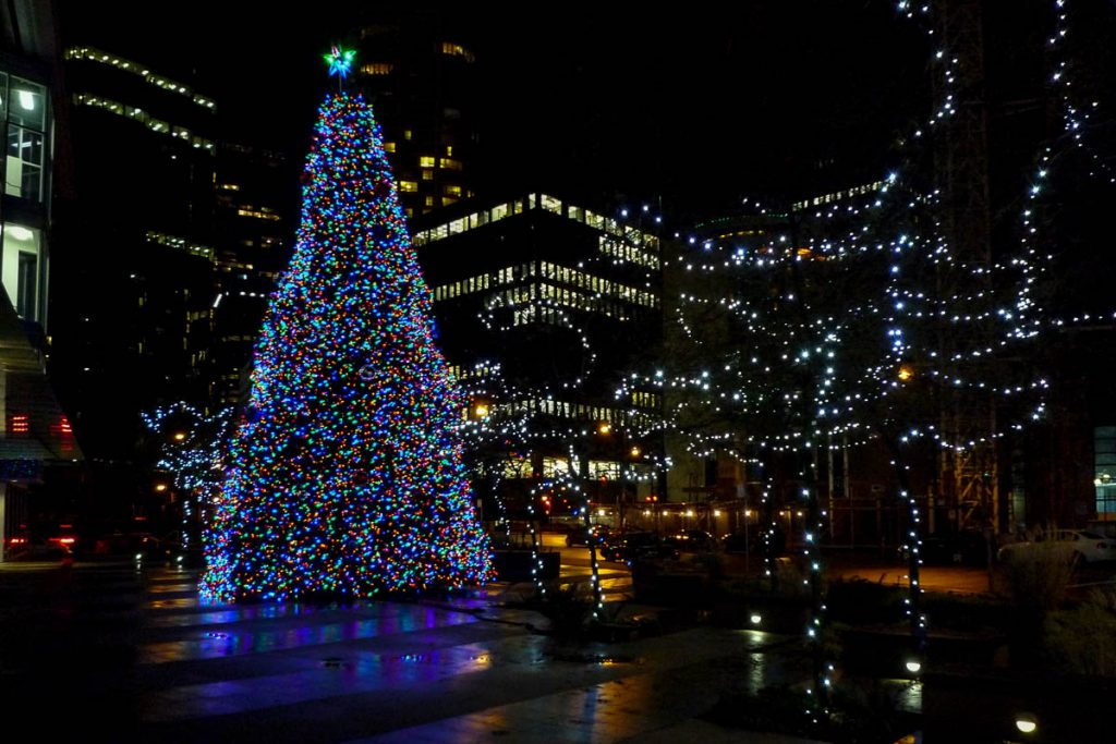 Kerstboom,Vancouver, British Columbia, Canada (2010)