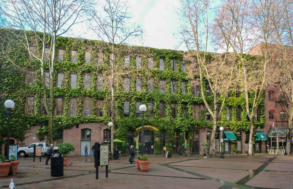 Groen gebouw,Seattle, Washington, Verenigde Staten (2010)