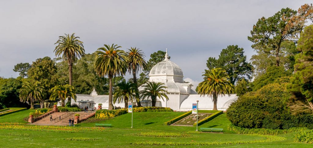 Conservatory of Flowers,Golden Gate Park, San Francisco, Californië, Verenigde Staten (2010)