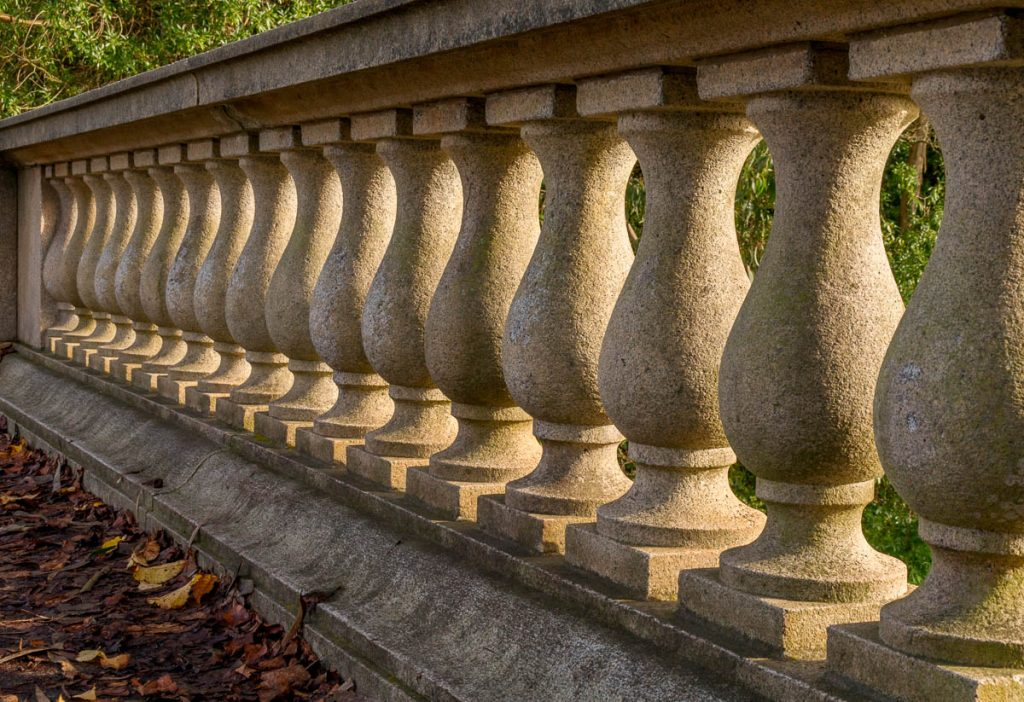 Balustrade,Golden Gate Park, San Francisco, Californië, Verenigde Staten (2010)