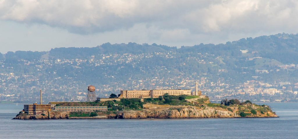 Alcatraz Island,Battery East Trail, San Francisco, Californië, Verenigde Staten (2010)