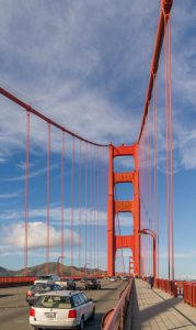 Golden Gate Bridge - San Francisco - Californië - Verenigde Staten