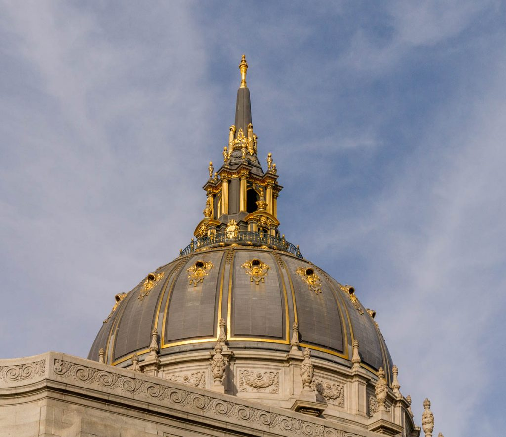 City hall Dome,City Hall, San Francisco, Californië, Verenigde Staten (2010)