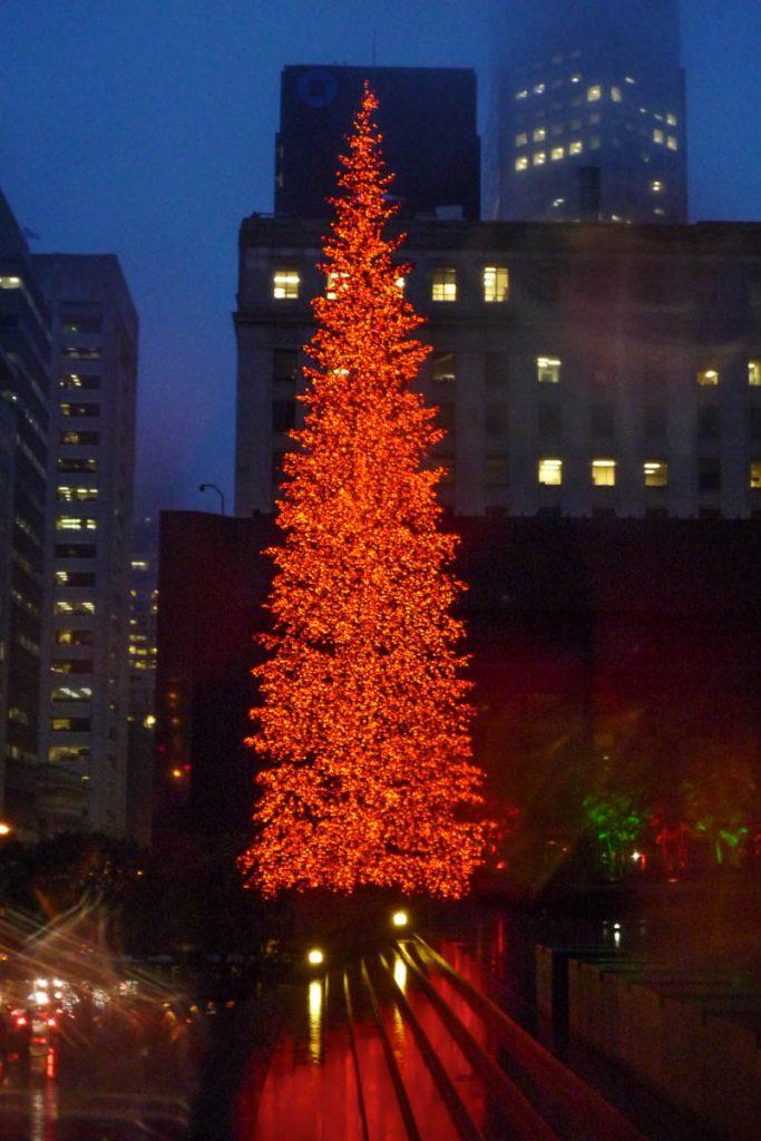 Kerstboom,San Francisco, Californië, Verenigde Staten (2010)