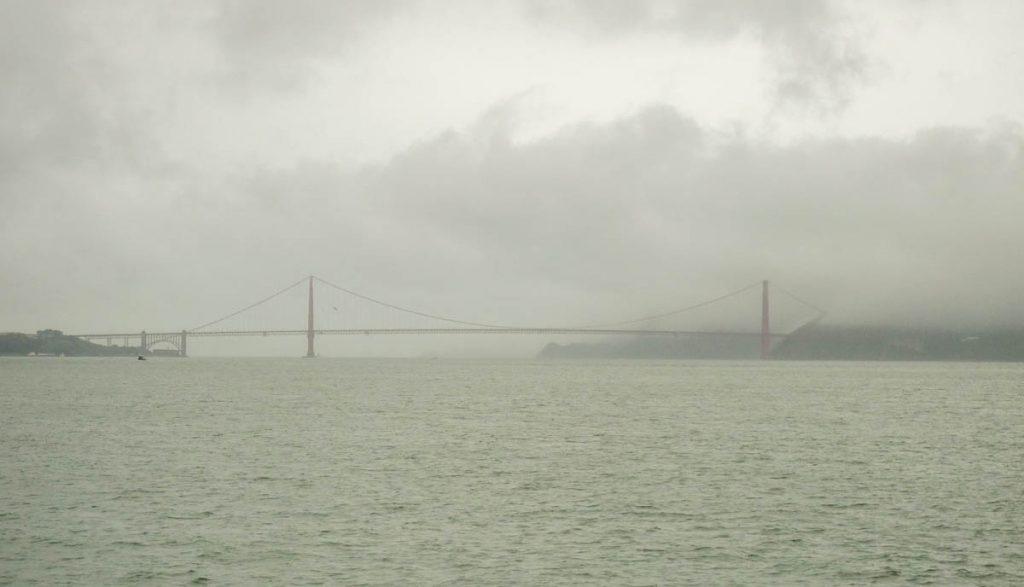 Het weer is niet optimaal,Alcatraz, San Francisco, Californië, Verenigde Staten (2010)