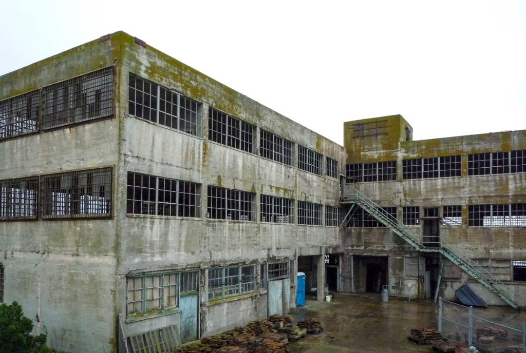Model Industries Building,Alcatraz, San Francisco, Californië, Verenigde Staten (2010)