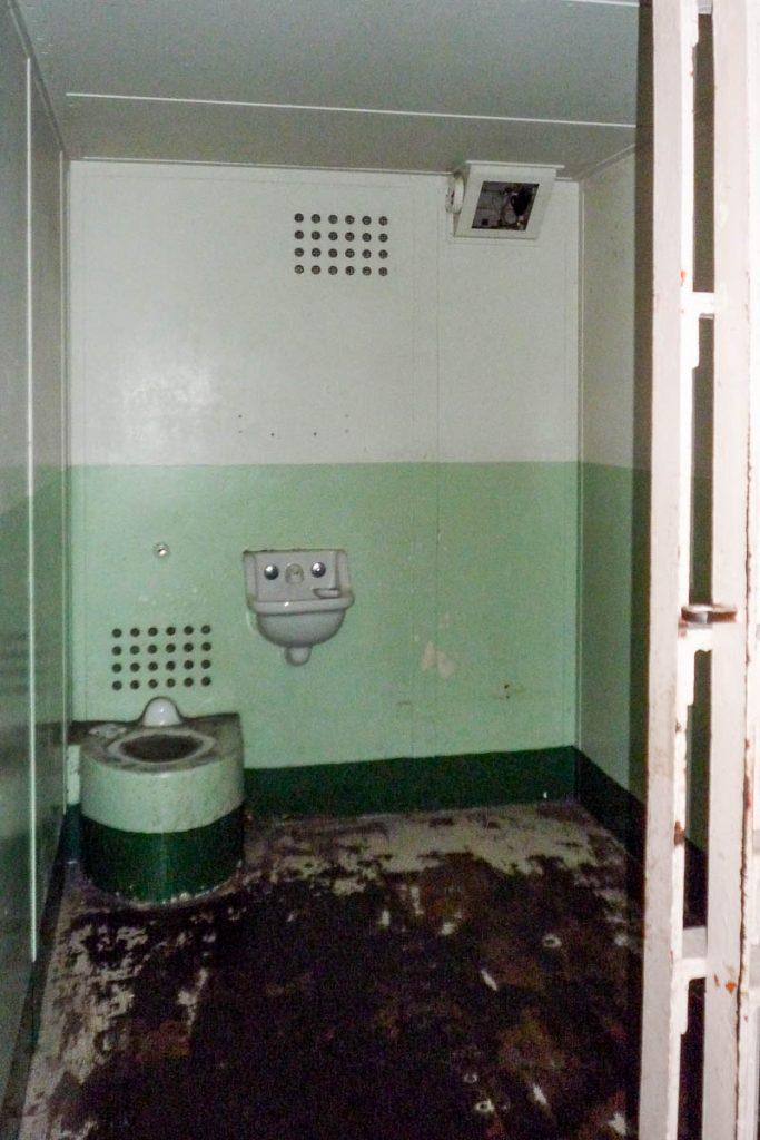 Isolatie Cel,Alcatraz, San Francisco, Californië, Verenigde Staten (2010)