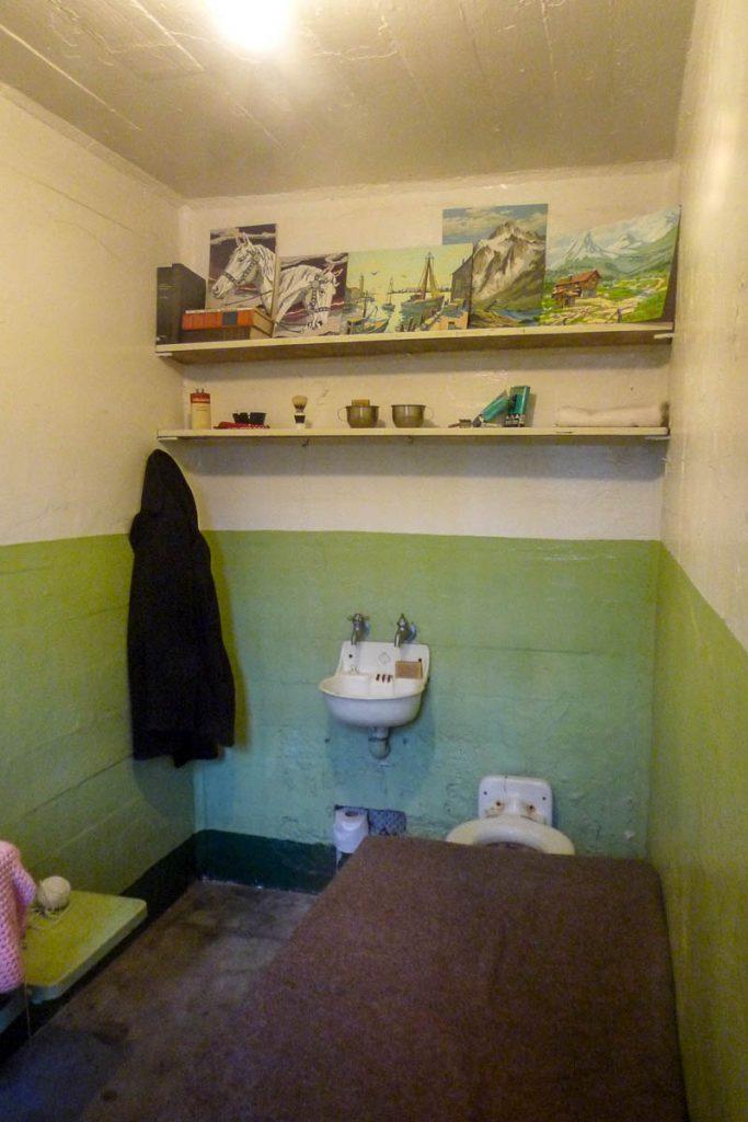 Cel,Alcatraz, San Francisco, Californië, Verenigde Staten (2010)