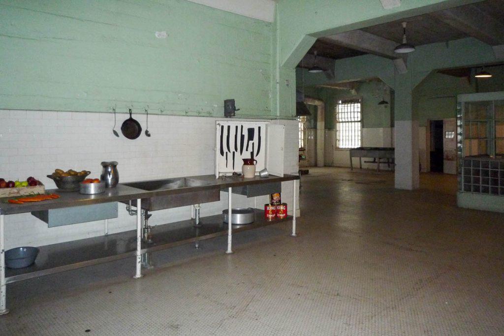 Keuken,Alcatraz, San Francisco, Californië, Verenigde Staten (2010)