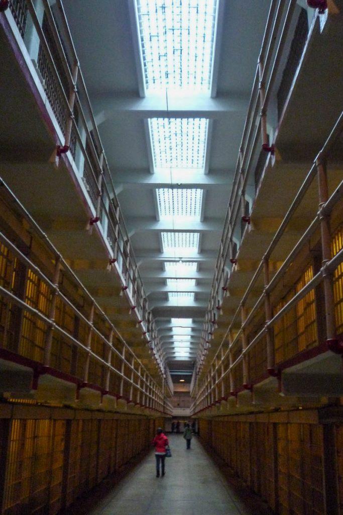 Celblokken,Alcatraz, San Francisco, Californië, Verenigde Staten (2010)