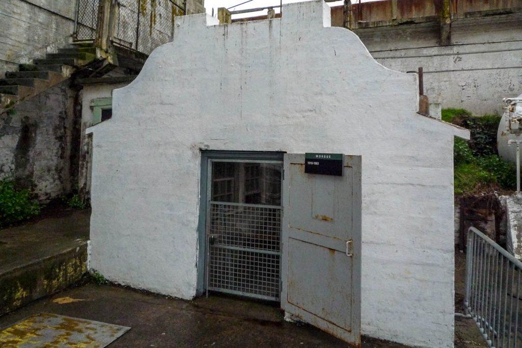 Mortuarium,Alcatraz, San Francisco, Californië, Verenigde Staten (2010)