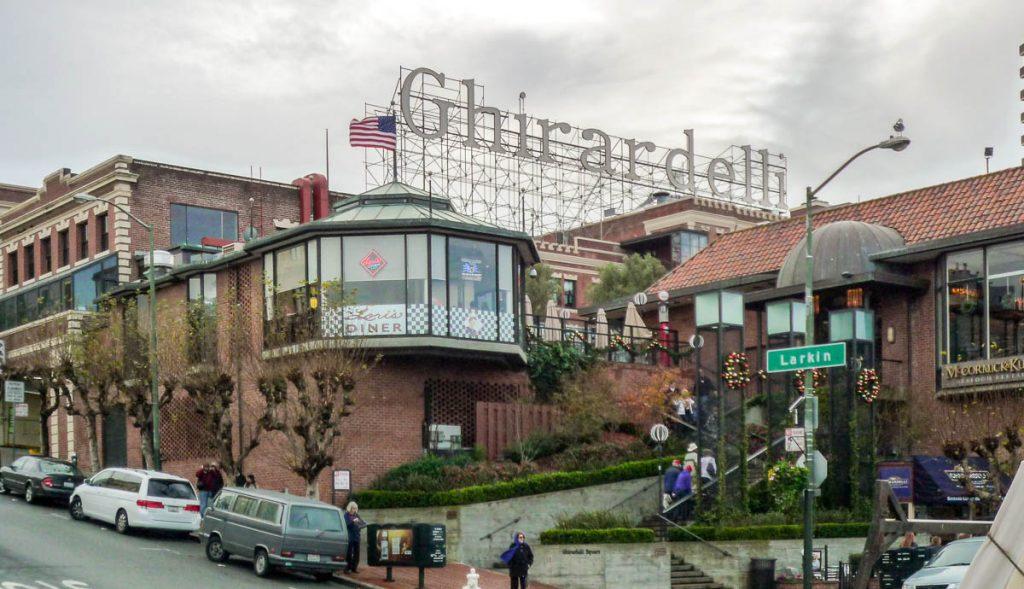 Ghirardelli shopping centre,Ghirardelli Square, San Francisco, Californië, Verenigde Staten (2010)