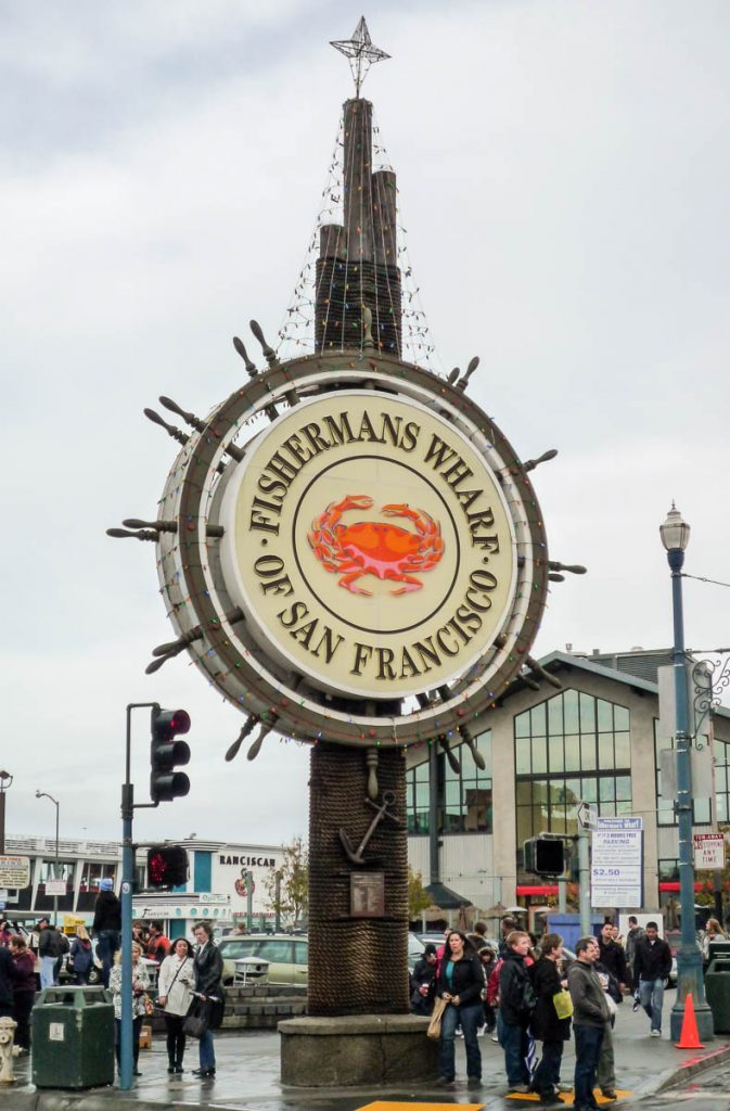 Fisherman's Wharf,Fisherman's Wharf, San Francisco, Californië, Verenigde Staten (2010)