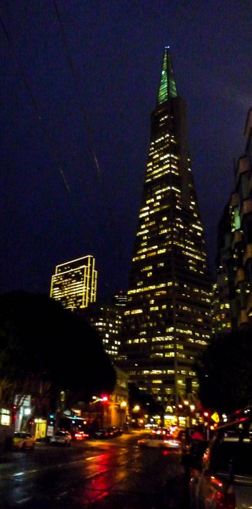 Transamerica Pyramid,San Francisco, Californië, Verenigde Staten (2010)