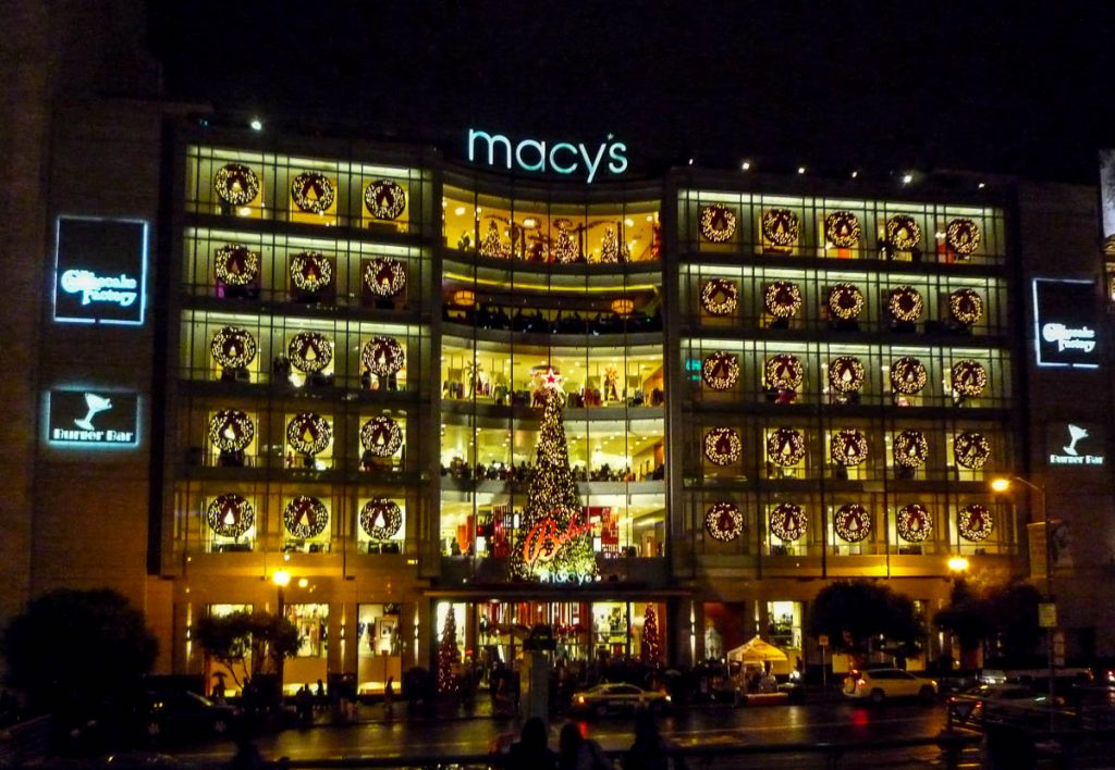 Macy's,Union Square, San Francisco, Californië, Verenigde Staten (2010)