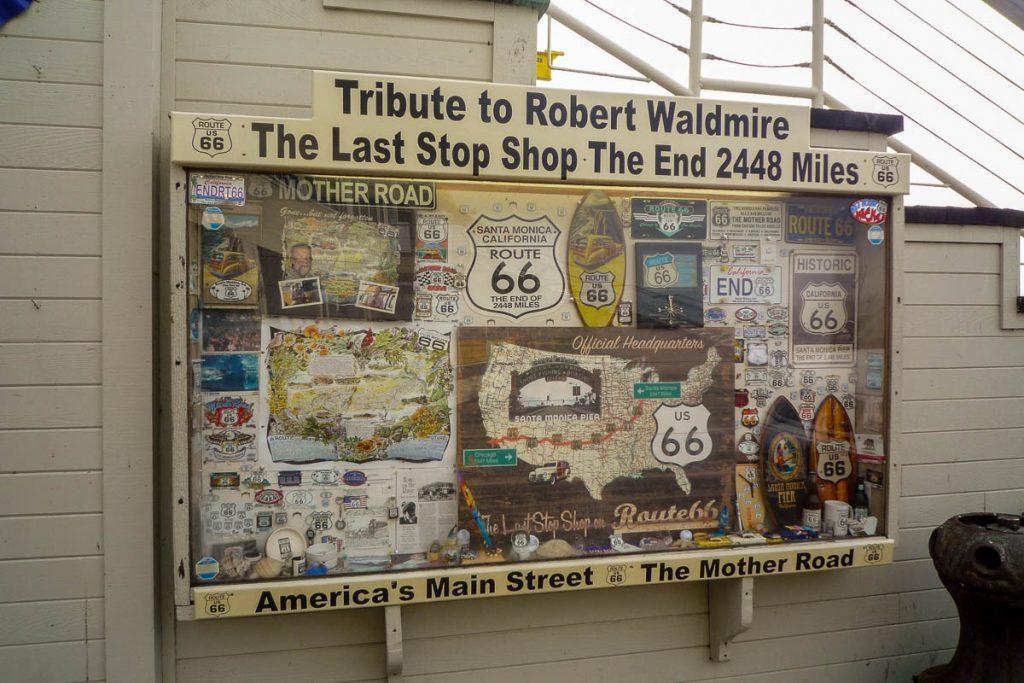 Route 66,Californië, Verenigde Staten (2010)