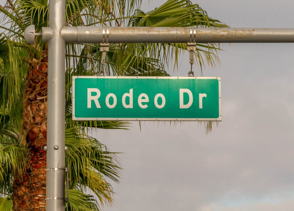 Rodeo Drive,Rodeo Drive, Los Angeles, Californië, Verenigde Staten (2010)