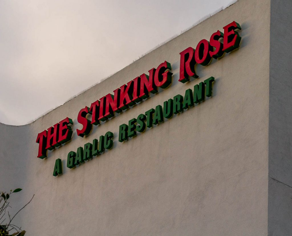 The Stinking Rose,Beverly Hills, Los Angeles, Californië, Verenigde Staten (2010)