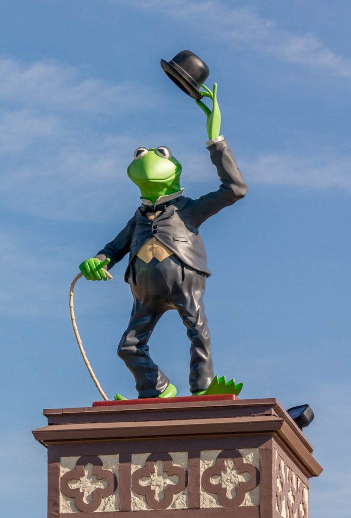 Kermit de kikker,Hollywood, Los Angeles, Californië, Verenigde Staten (2010)