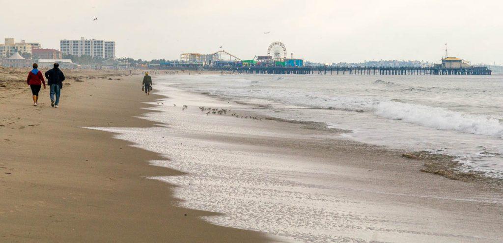 Sanrta Monica Beach & Pier,Californië, Verenigde Staten (2010)