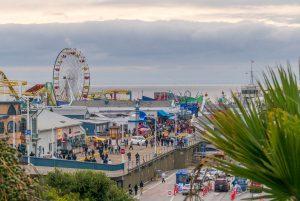 Pretpark op de Pier